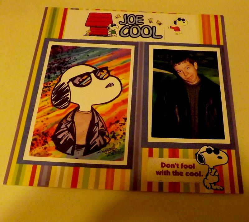David Joe Cool  don't fool with the cool :)