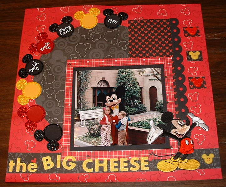 Disney The Big Cheese 1987