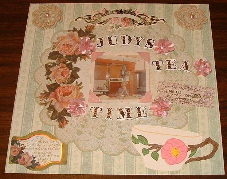 Judy's Tea Time  Heritage Challenge