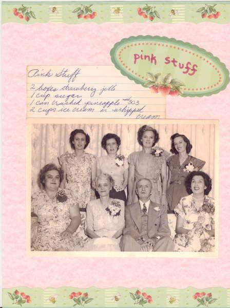 Pink Stuff  Heritage Recipe Album