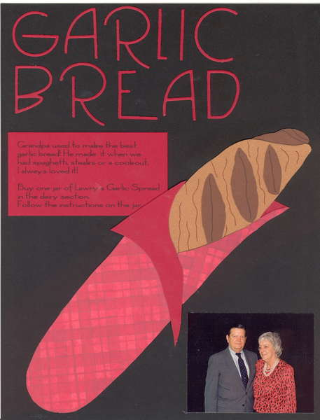 Garlic Bread  Heritage Recipe Album