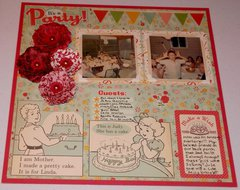 My Birthday Party Heritage Challenge