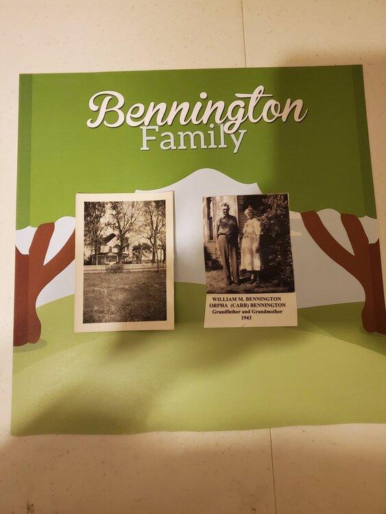 house of william m bennington orpha carr bennington july heritage challenge