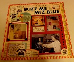 Buzz Me Miz Blue Heritage Challenge March