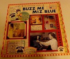 Buzz Me Miz Blue Heritage Challenge March