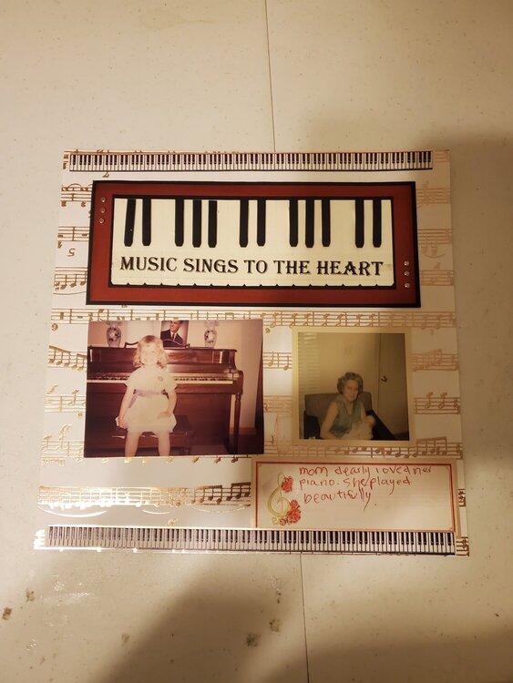 moms piano    July heritage challenge