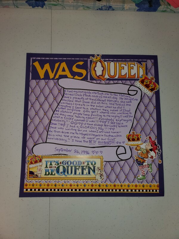 the day I was queen 1996 anniversary pg 2