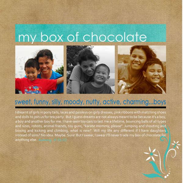 my box of chocolate