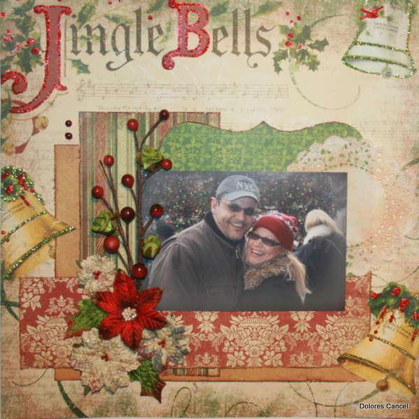 "Jingle Bells ""Swirlydoos Dec. kit"""