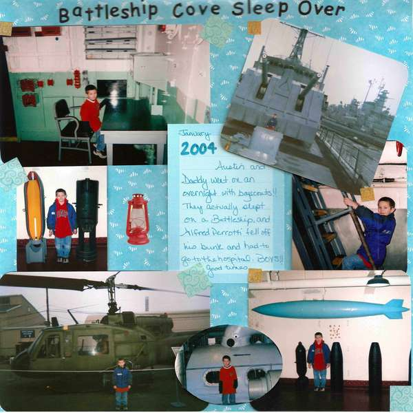 Battleship Cove/Boyscouts Sleepover!