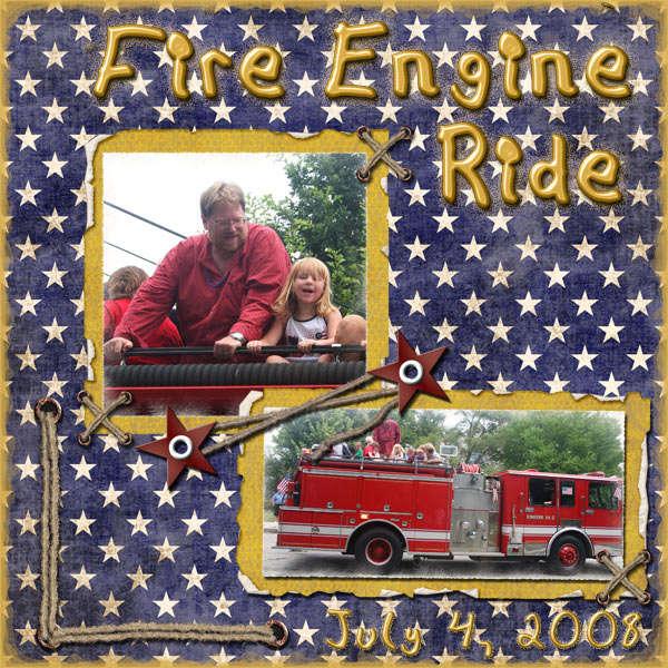 Fire Engine Ride