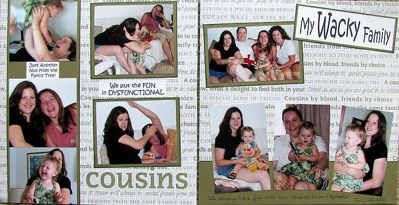 Cousins july 06