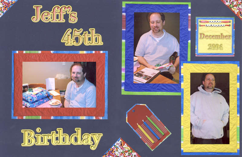 Jeff's 45th Birthday