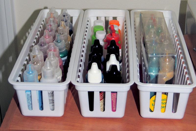 Stickles, Ink Refills storage