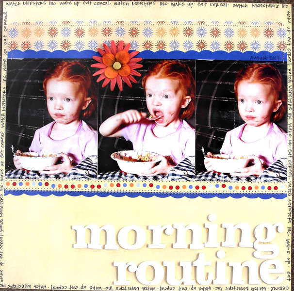 Morning Rountine