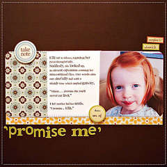 Promise Me (October Aftrnoon)