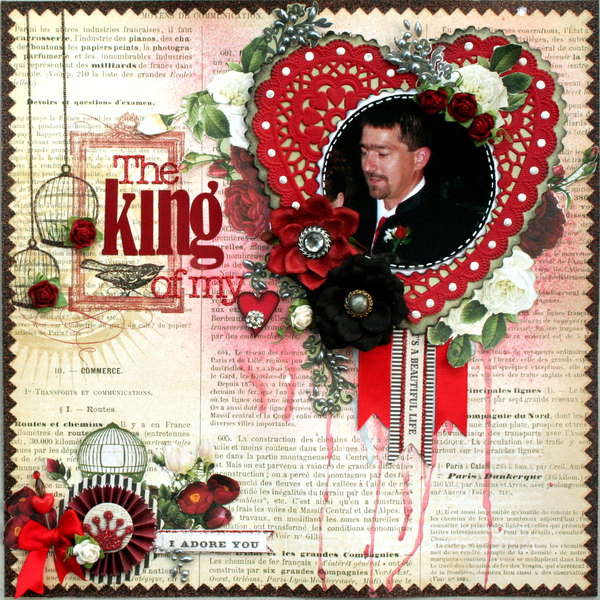 The King of my {heart{