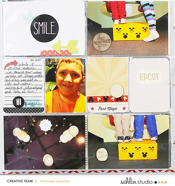 Disney Project Life Album Epcot!!!