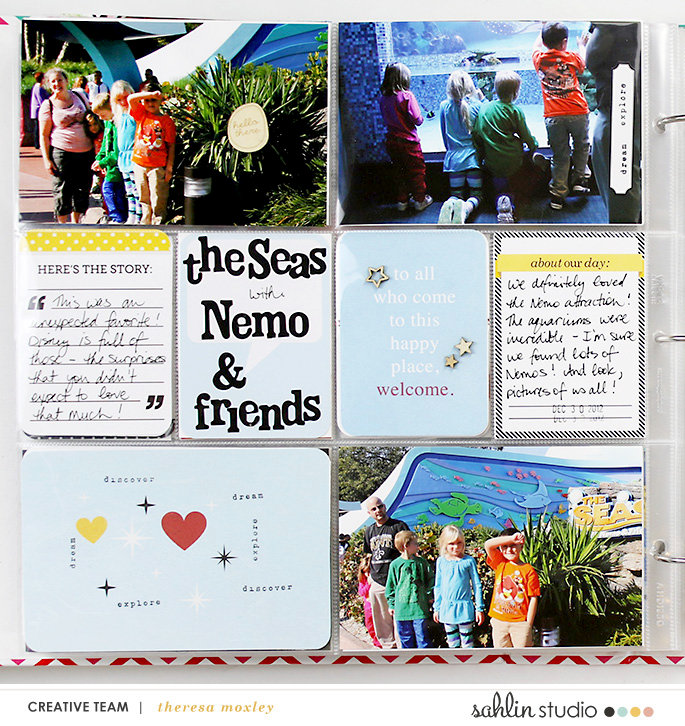 Sahlin Studio Creative Team Disney Epcot Shopping and Nemo & Friends!