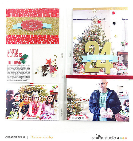 Sahlin Studio CT | December Album Completed Pages