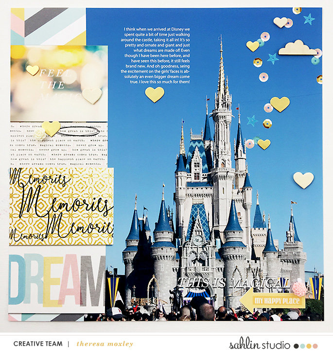 Disney Cover Layout