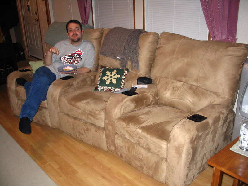6.) A couch