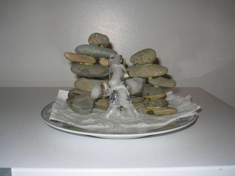 # 3. Ice Sculpture: Inukshuk