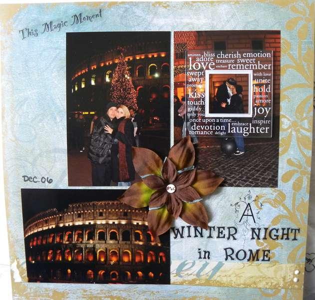A Winter Night in Rome