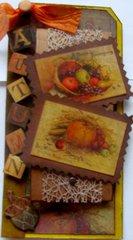 Autumn Recipe Tag