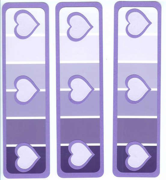 Paint Chip Borders - Purple