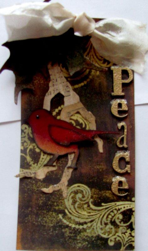 Peace Tag