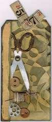Scissors Tag