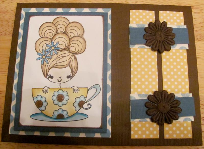 Tilly Tea Cup Card