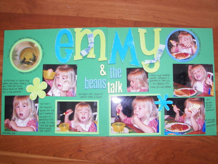 Emmy and the Beans Talk