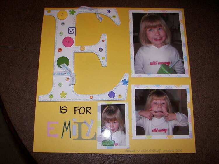 E is for Emily