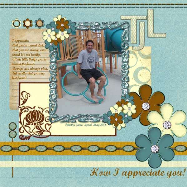 How I appreciate you!
