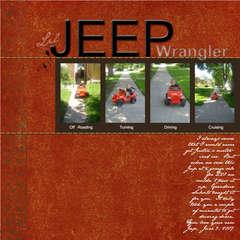 Lil Jeep Wrangler