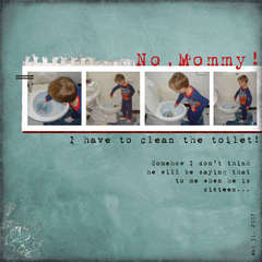 No, Mommy!
