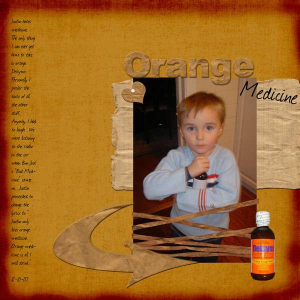 Orange Medicine