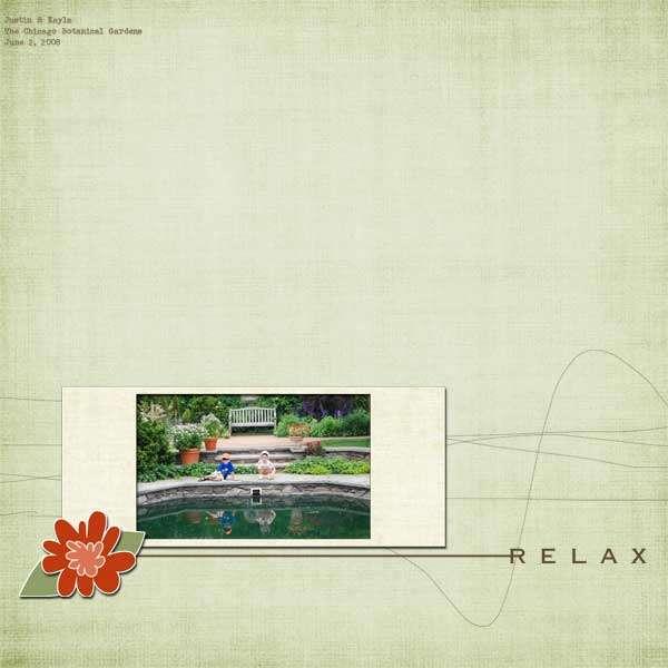 Relax (Justin & Kayla)