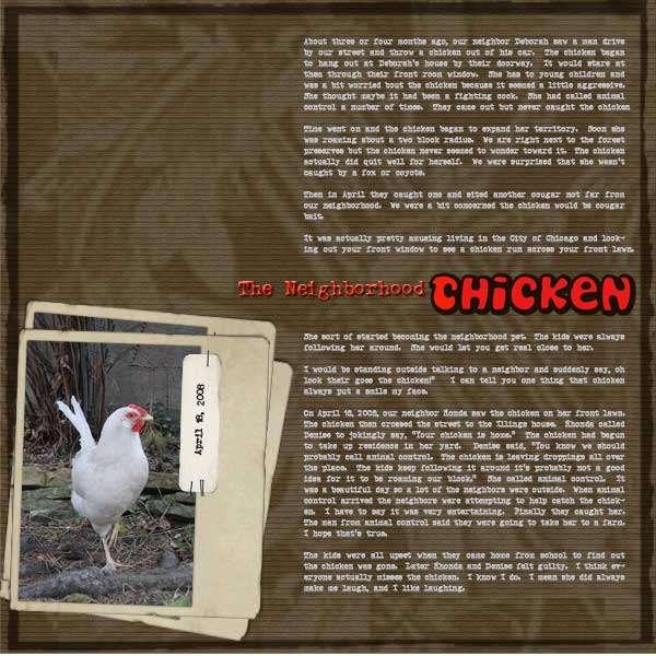 The Neighborhood Chicken