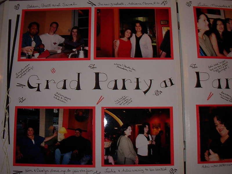 Graduation Party at Panda Inn Pg 1