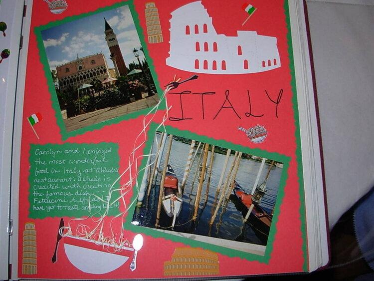 Disney World-Epcot Italy