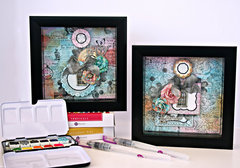 Shadow Box Layouts **NEW PRIMA**