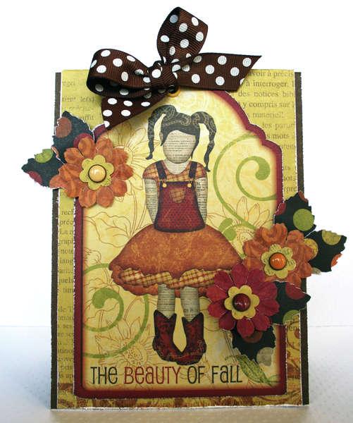 Fall Card **Bo Bunny**
