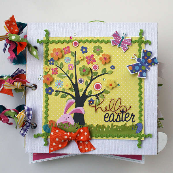 Hello Easter Mini Album **Little Yellow Bicycle**