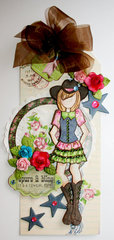 Cowgirl Thing Tag