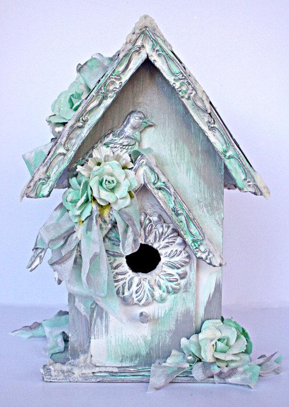 Birdhouse **NEW PRIMA MOULDS**