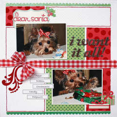 Dear Santa **Scrapbooking and Beyond**