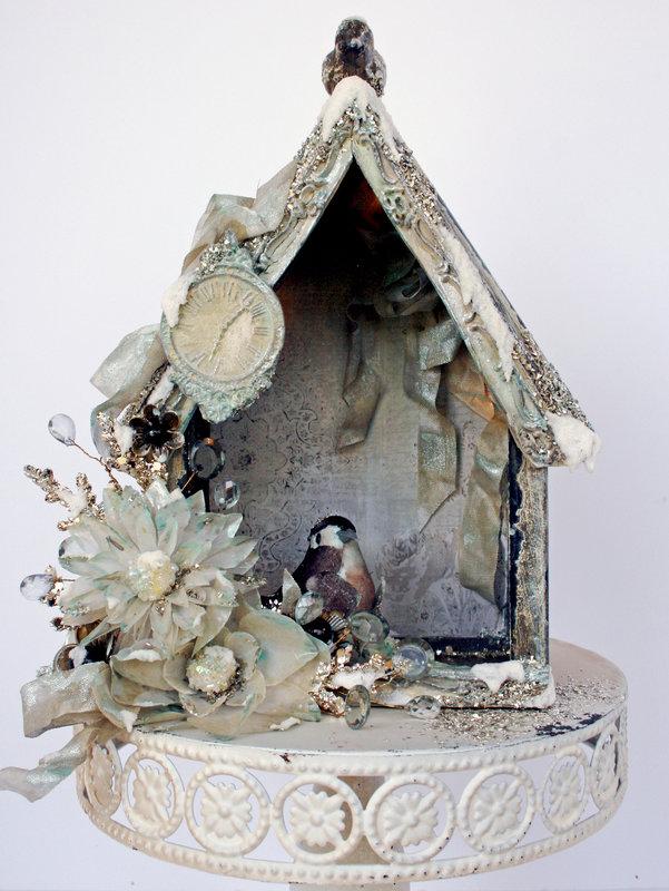 Frosty Birdhouse **New Prima**Live with Prima**